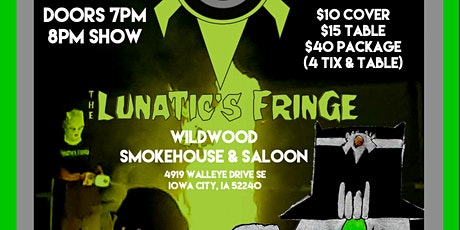 The Lunatic's Fringe tickets