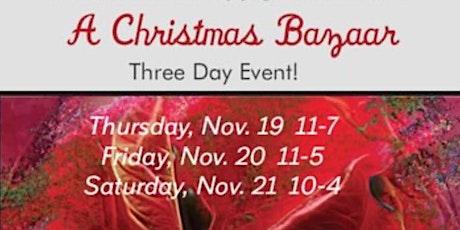 A Christmas Bazaar tickets