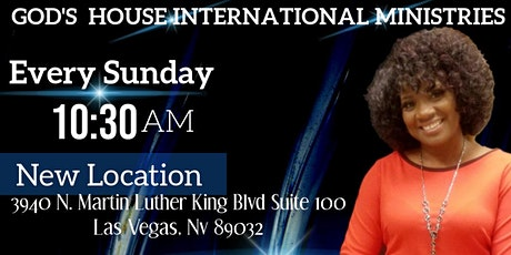 God's House International Ministries tickets