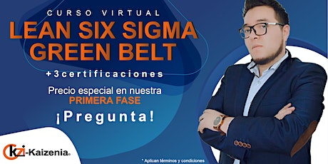 Curso virtual Lean Six Sigma Green Belt entradas