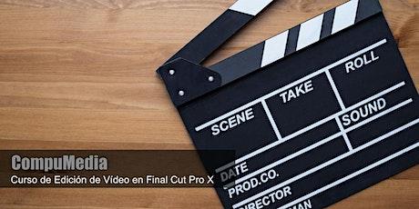 Aprende a editar tus Vídeos en Final Cut Pro tickets
