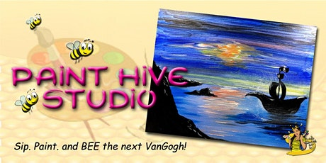 Live Streaming - Virtual Halloween Paint Party tickets