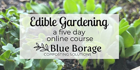Edible Gardening Basics: five day course (November) tickets