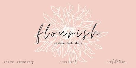 Flourish: Cacao Ceremony at Shambhala Shala tickets