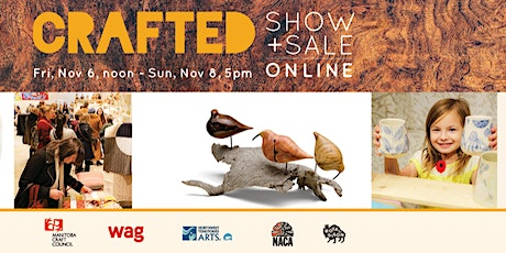 CRAFTED Show + Sale 2020 ONLINE tickets