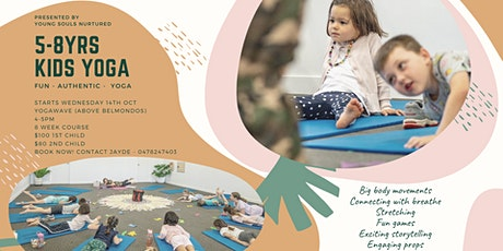 Kids Yoga 5-8yrs tickets