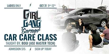 October Women's Car Care Class tickets