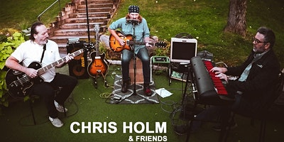 CHRIS HOLM & FRIENDS With Justin Sutherland and Handsome Hogs Menu!