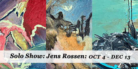 Exhibition: Jens Rossen A Solo Show tickets