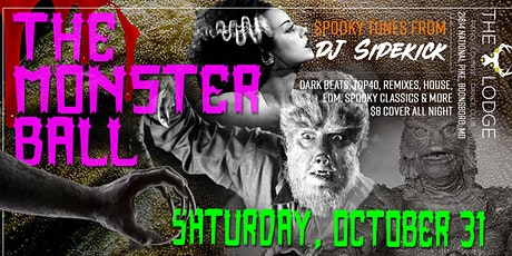 """The Monster Ball"" - Halloween Night Dance Party tickets"