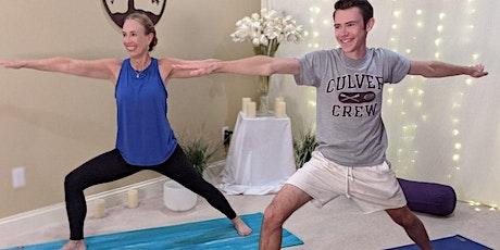 FREE Balance & Energize Yoga ONLINE tickets