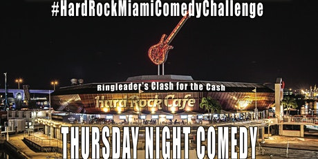 Ringleader Comedy Club Down Town Miami Bringing Laughter Back to Miami tickets