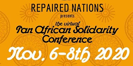 Virtual Pan African Solidarity Conference tickets