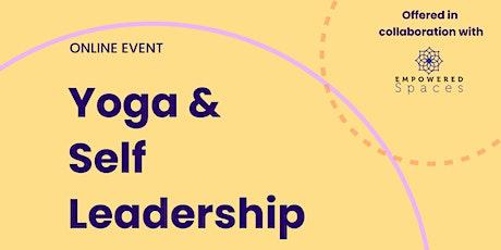 Yoga & Self-Leadership tickets