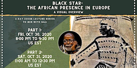 Runoko Rashidi 2-Day Course:  Black Star, The African Presence in Europe tickets