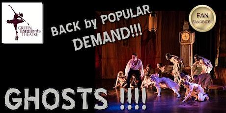 Ghosts 2020 Saturday evening Griffin Ballet Theatre tickets