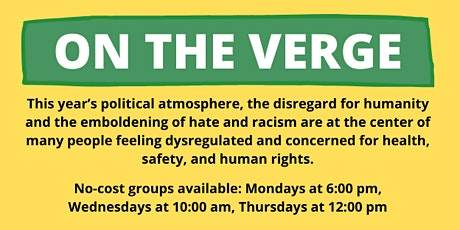 On The Verge - Discussion Groups - YWCA Greater Austin