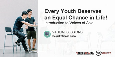 【Virtual】Every Youth Deserves An Equal Chance in Life. Be a mentor - 2 Nov tickets