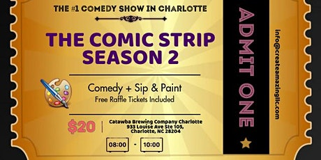 The Comic Strip (Comedy + Sip & Paint) tickets