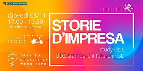 Study visit presso la 3DZ: stampare il futuro in 3D tickets