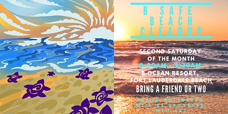 B Ocean Resort : B Safe Beach Cleanup tickets