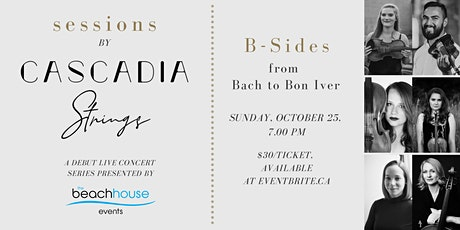 Sessions by Cascadia Strings: B-Sides tickets