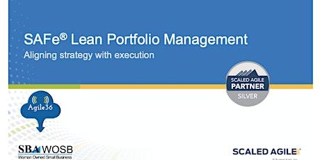 SAFe® Lean Portfolio Management (5.0.1) tickets