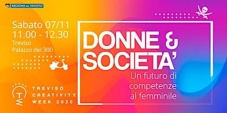 Donne & Società: un futuro di competenze al femminile tickets