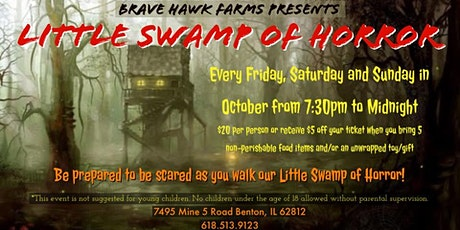 Little Swamp of Horror tickets