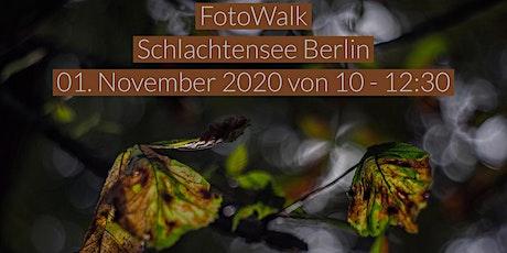 Fotowalk Blickwinkel Berlin Schlachtensee Tickets