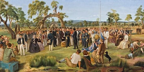 Dr Susan Marsden : MR HILL'S HISTORY PAINTING of Proclamation Day 1836 tickets
