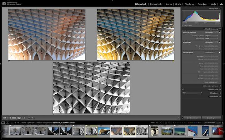 Lightroom Akademie: Entwicklungsworkflow: Bild