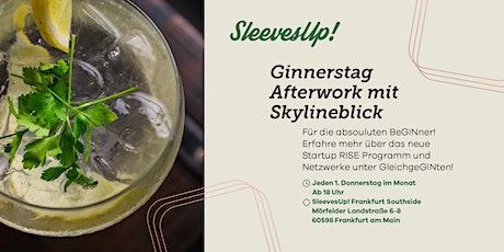 Ginnerstag Afterwork mit Skylineblick billets