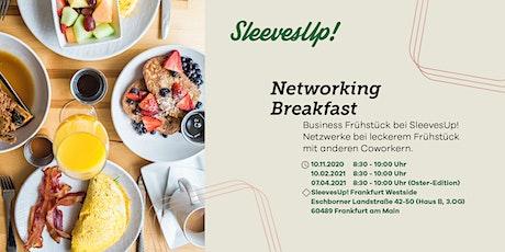 SleevesUp! Networking Breakfast Tickets
