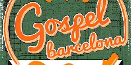 Copia de Cantar Gospel lunes  primera clase gratis tickets