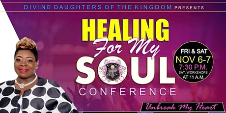 DDK CONFERENCE 2020 Healing For My Soul tickets