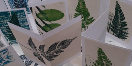 Nature's  Print Card Making Workshop tickets