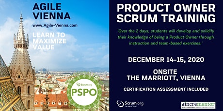 Agile Vienna | Certified Training | Professional Scrum Product Owner (PSPO) Tickets