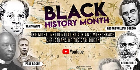Black History Month - The most influential black & mixed-race Christians tickets