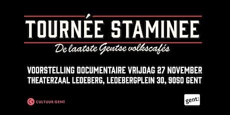 Tournée Staminee - voorstelling documentaire - Week van het Gents