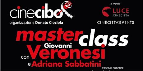 Giovanni Veronesi presto a Cinecittà per la nuova Masterclass Cinecibo biglietti