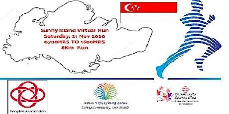 Sunny Island Virtual Run tickets