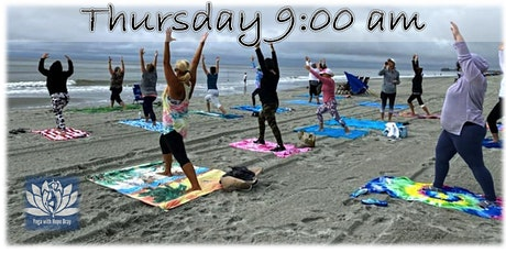 BEACH YOGA, THURS., Oct.. 29th at 9:00 am  - PLEASE NOTE TIME CHANGE tickets