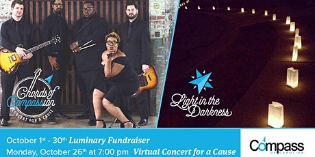 """Compass of Carolina's  VIRTUAL """"Chords of Compassion: Concert for a Cause"""" tickets"""