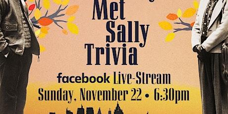 When Harry Met Sally Trivia Live-Stream tickets