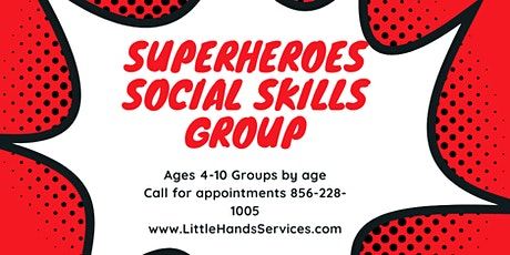 Superheroes Social Skills Group tickets