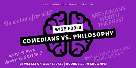 Wise Fools: Comedians vs. Philosophy tickets