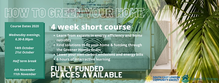 Green Your Home - Is your Home Future-Fit? (Evening Course) image
