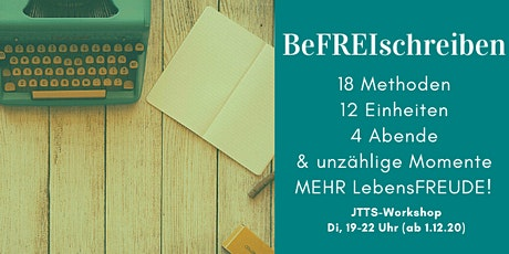 Schreibende Selbsthilfe - Journal to the Self - 4 Dienstag Abende