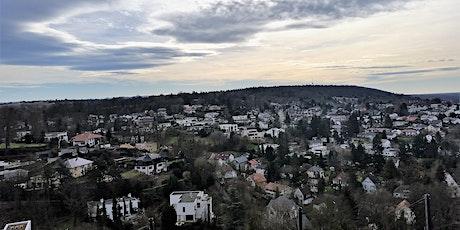 So,18.04.21 Wanderdate Singlewandern zum Turmberg in Karlsruhe für 40+ Tickets